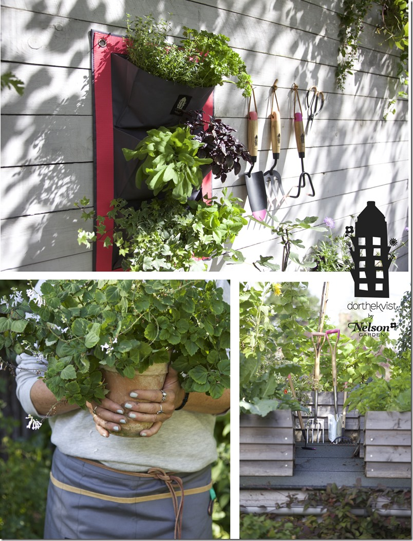Dorthe Kvist by Nelson Garden Sustainable tools for the urban gardener a