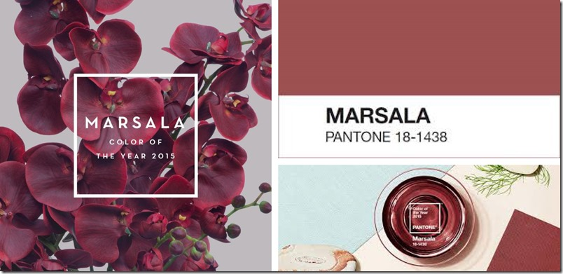 Marsala colour of the year Pantone Dorthe Kvist Meltdesignstudio