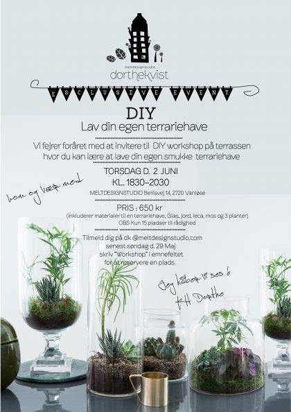 Workshop invitation Terrariehave torsdag d 2 Juni 2016