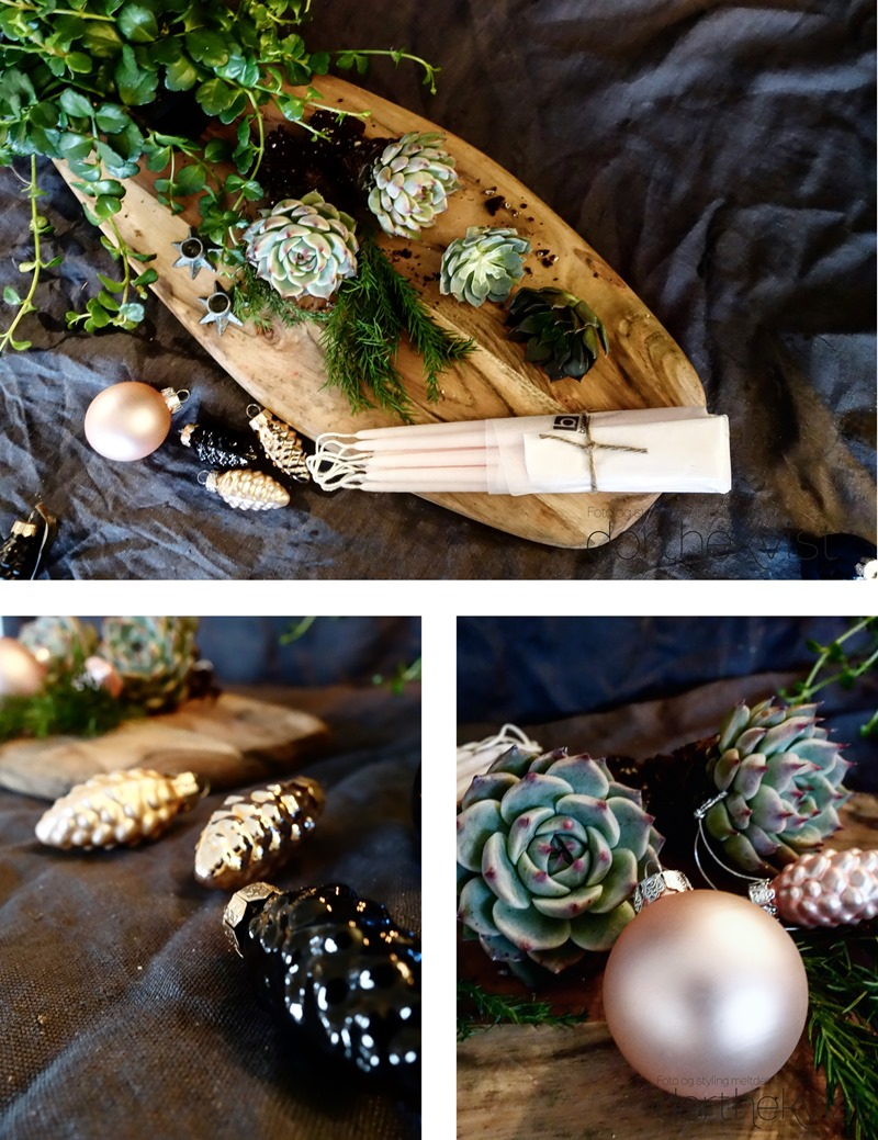 DIY Botanisk advent Foto og styling Dorthe Kvist Meltdesignstudio a
