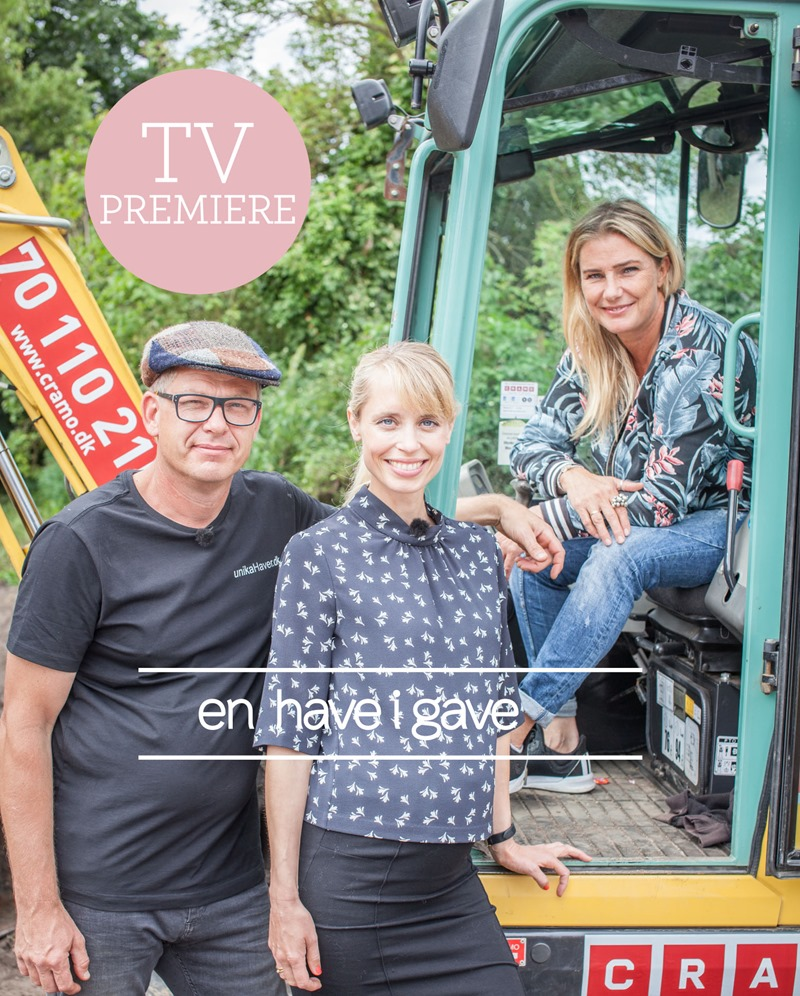 Tv premiere En have i gave Foto Jeppe Melchiorsen TV2